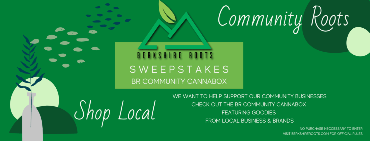 Berkshire Roots community cannabox sweepstakes